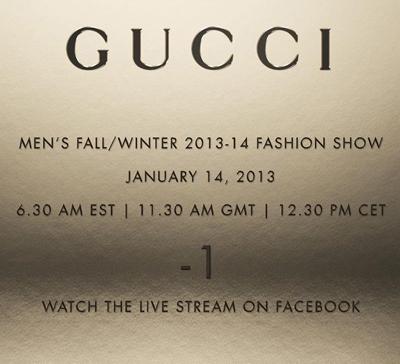 Gucci Facebook