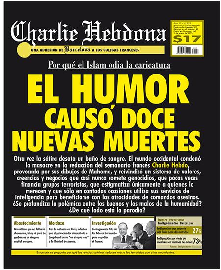 Charlie Hebdona Barcelona