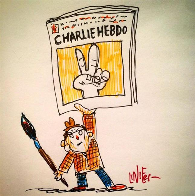 Liniers Charlie Hebdo
