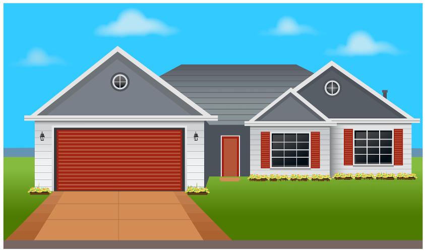 Image interactive - Une maison à l'abri des cambrioleurs