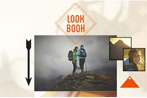 Lookbook interactif Quechua