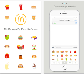 MacDonald emoji keyboard