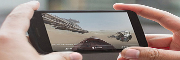 Facebook video 360 star wars